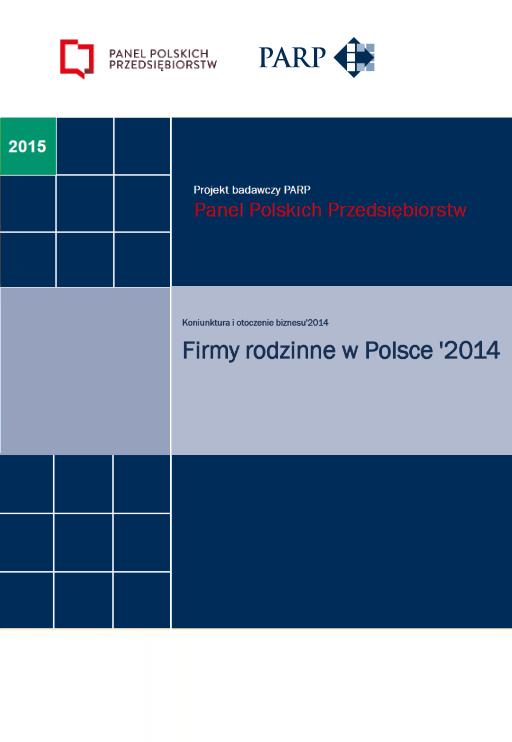Koniunktura - Firmy rodzinne w Polsce - 2014