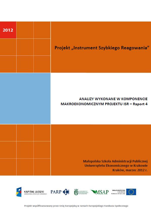 Komponent makroekonomiczny - Ocena stopnia zagrożenia przedsiębiorstw upadłością - IV