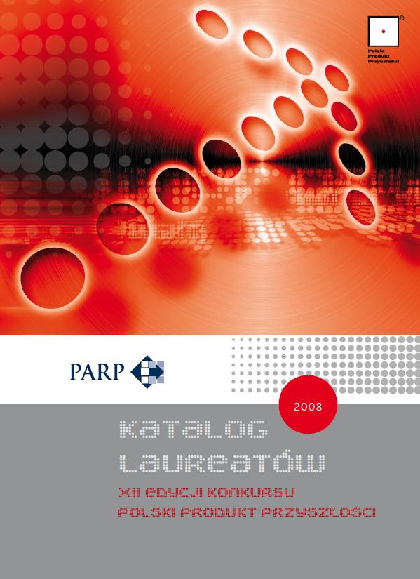 Katalog laureatów XII edycji Konkursu Polski Produkt Przyszlości