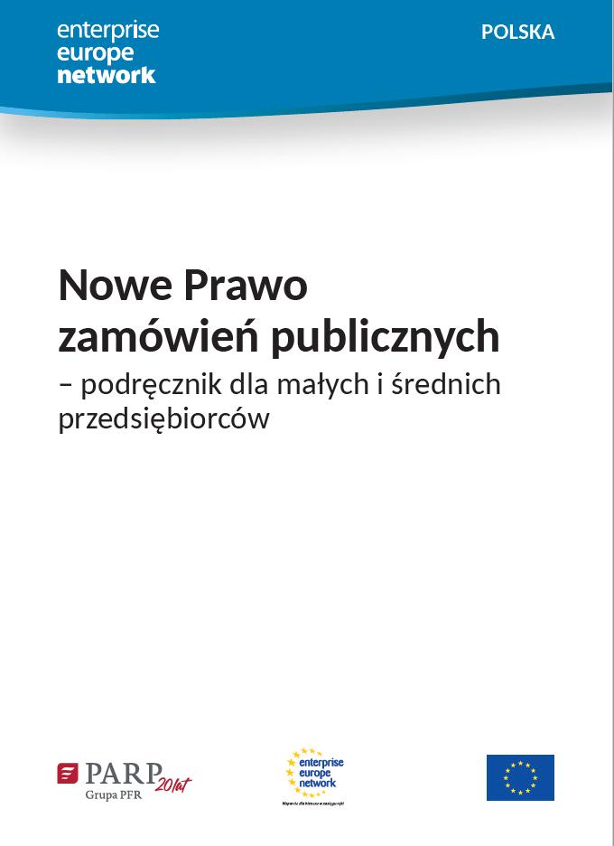 Nowe Prawo zamówień publicznych – podręcznik dla małych i średnich przedsiębiorców