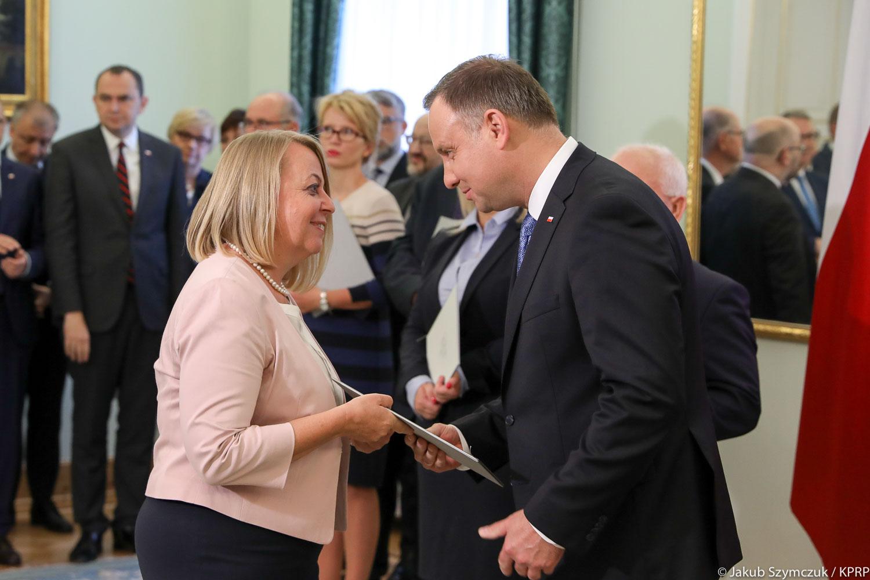 Małgorzata Oleszczuk, prezes PARP została powołana do kapituły Nagrody Gospodarczej Prezydenta RP