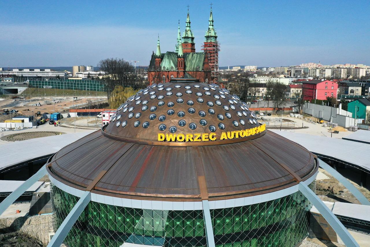 Modernizacja dworca autobusowego w Kielcach