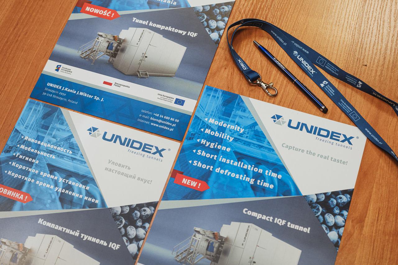 Rozwój marki Unidex na rynkach zagranicznych poprzez udział w programie promocji branży maszyn i urządzeń