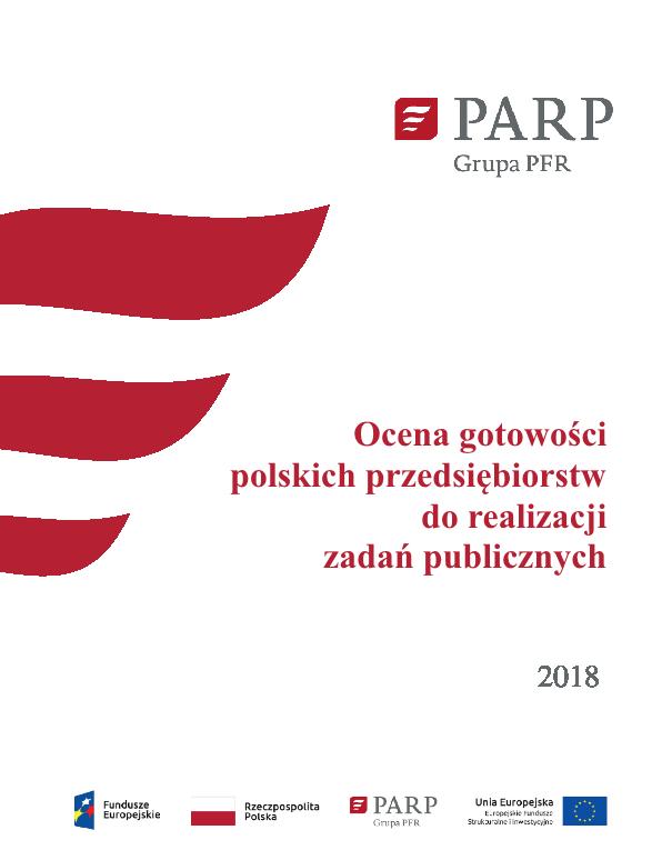 Ocena gotowości polskich przedsiębiorstw do realizacji zadań publicznych