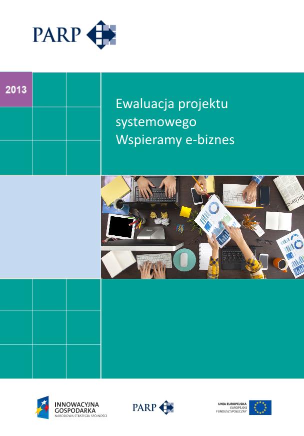 Ewaluacja projektu systemowego Wspieramy e-biznes