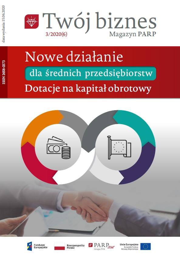 Twój biznes: Nowe działanie dla średnich przedsiębiorstw Dotacje na kapitał obrotowy